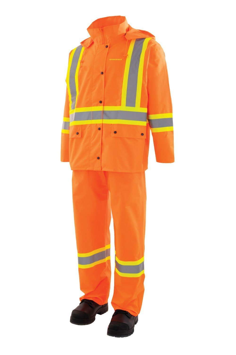 Forcefield - Safety Rain Suit - 023-HVRSS - Orange