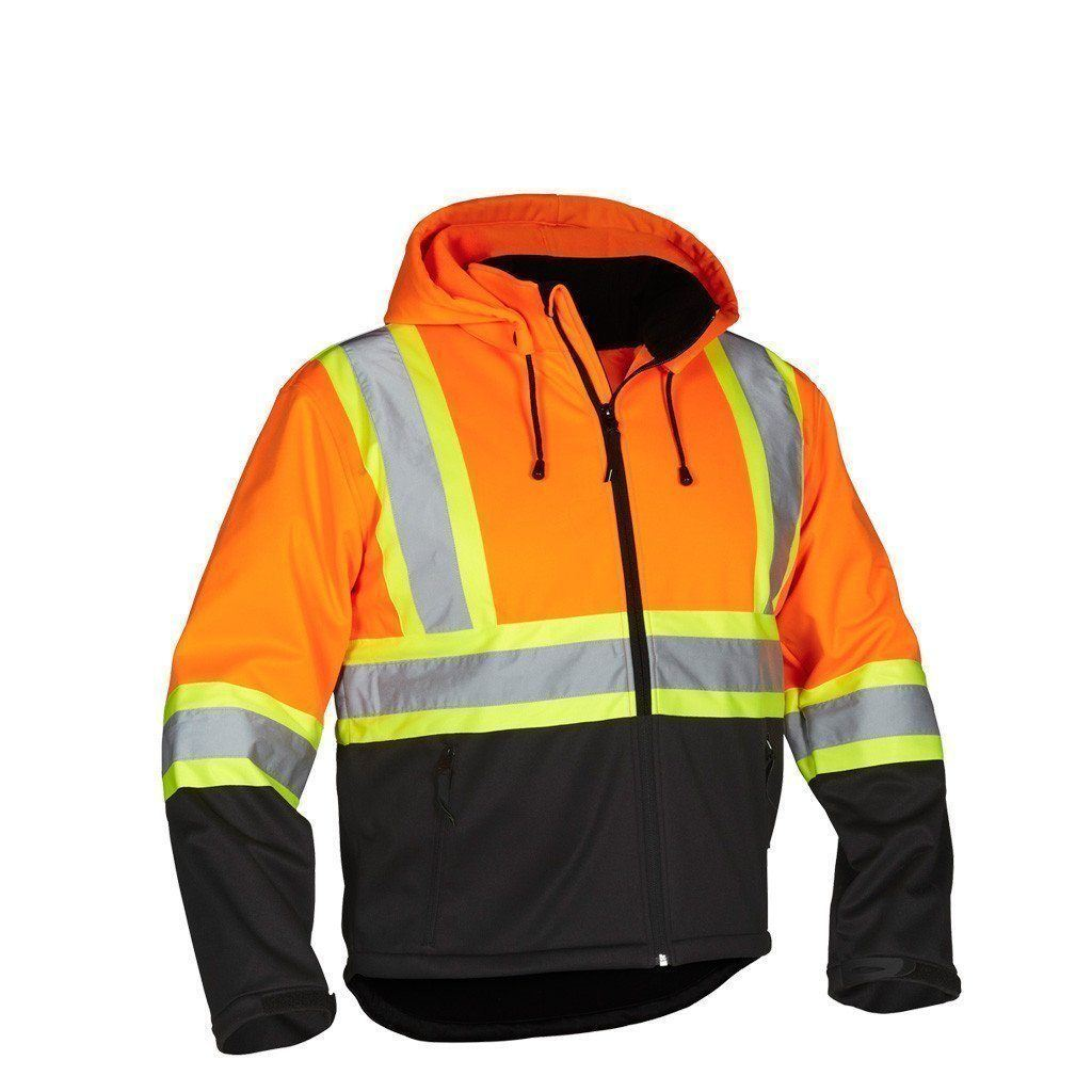 Forcefield - Safety Softshell Jacket - 023-EN148OR - Orange