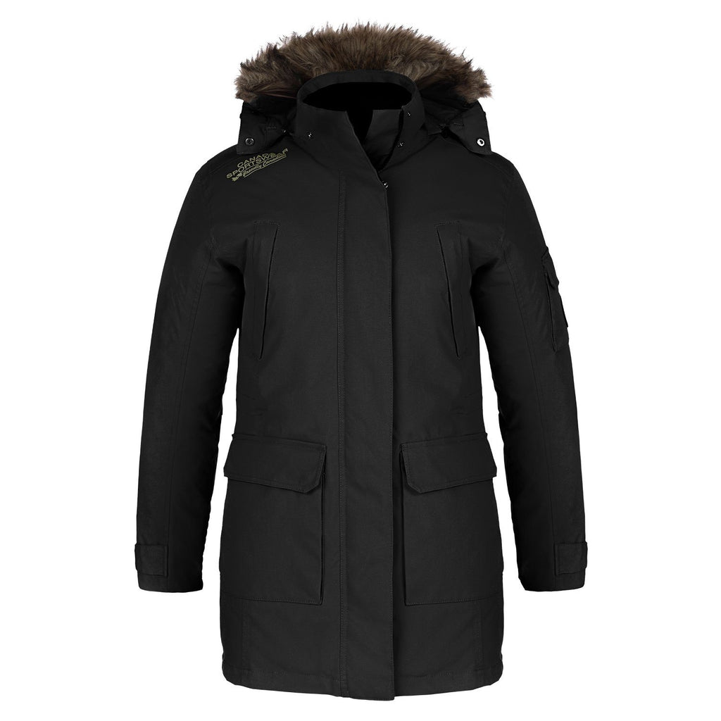 Canada Sportswear  - Ultimate Cold Weather Parka: Women's Cut - L06101 - Black