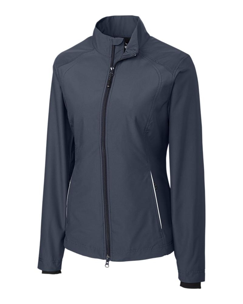 LCO01211 - Cutter and Buck ladies - onyx - Beacon full zip jacket