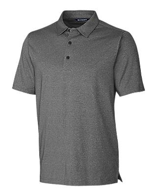 Cutter and Buck Forge Heather Polo - MCK01050 - Charcoal Heather