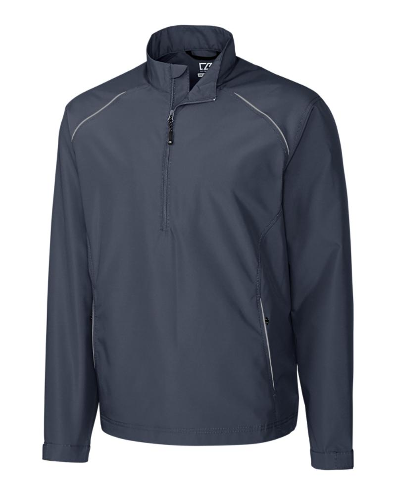 MCO00922 - Cutter and Buck - onyx - Beacon half zip jacket