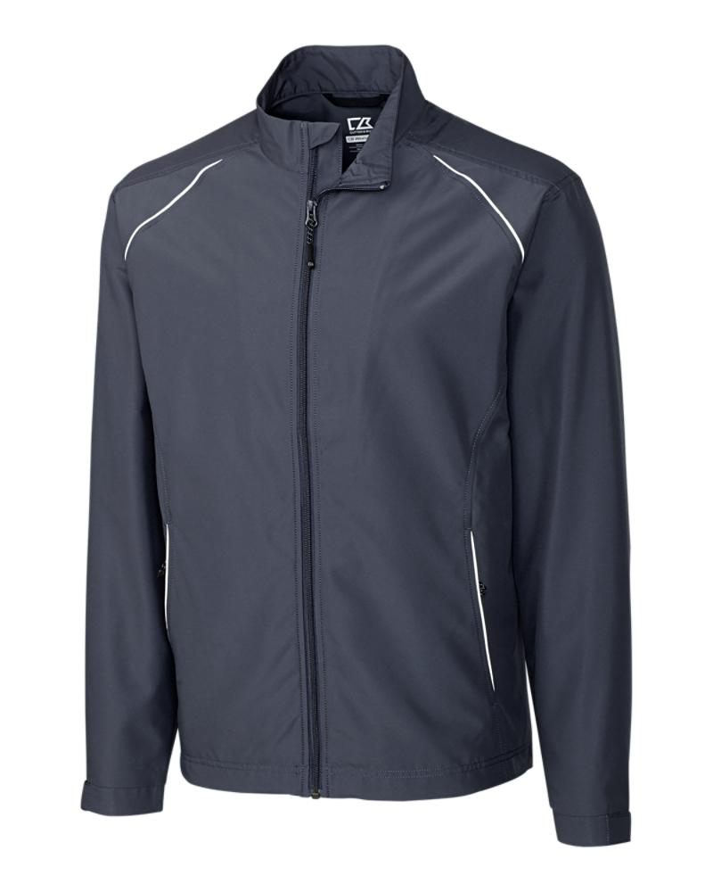 Cutter and Buck Beacon Full-Zip Jacket - MCO00923 - Onyx