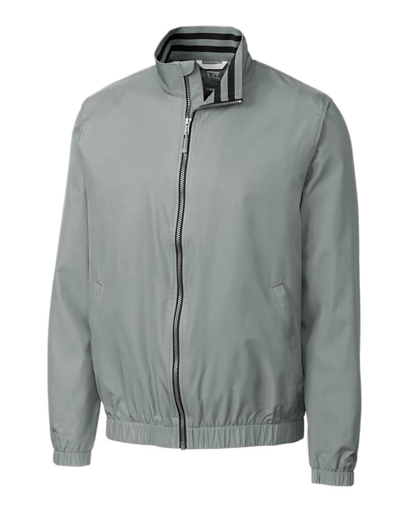 MCO09853 - Cutter and Buck - oxide - Nine Iron full zip jacket