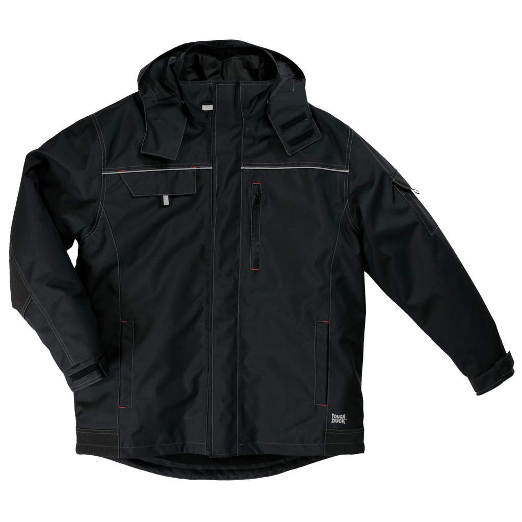 Tough Duck 3 in 1 Parka - WJ14 - Black