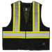 Tough Duck 5-Point Tearaway Safety Vest - S9i0 - Black