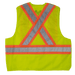 Tough Duck 5-Point Tearaway Safety Vest - S9i0 - Fluorescent Green - back