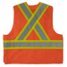 Tough Duck 5-Point Tearaway Safety Vest - S9i0 - Fluorescent Orange - back