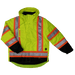 Tough Duck 5-in-1 Safety Jacket - S426 - Fluorescent Green