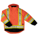 Tough Duck 5-in-1 Safety Jacket - S426 - Fluorescent Orange