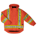 Tough Duck 5-in-1 Safety Jacket - S426 - Solid Orange