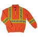 Tough Duck Quarter Zip Safety Pullover - SJ19 - Fluorescent Orange