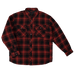 Tough Duck Quilted Flannel Shirt - WS05 - Red Plaid