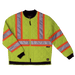 Tough Duck Quilted Safety Jacket - S432 - Fluorescent Green