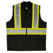Tough Duck Quilted Safety Vest - SV05 - Black