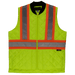 Tough Duck Quilted Safety Vest - SV05 - Fluorescent Green