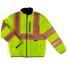 Tough Duck Reversible Safety Jacket - SJ27 - Fluorescent Green