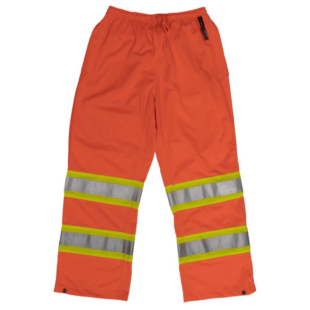 Tough Duck Safety Pull-On Pant - S603 - Fluorescent Orange