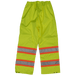 Tough Duck Safety Rain Pant - S374 - Fluorescent Green - back