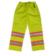 Tough Duck Safety Rain Pant - S374 - Fluorescent Green