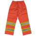 Tough Duck Safety Rain Pant - S374 - Fluorescent Orange - back