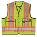 Tough Duck Surveyors Safety Vest - S313 - Fluorescent Green