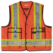 Tough Duck Surveyors Safety Vest - S313 - Fluorescent Orange