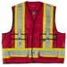 Tough Duck Surveyors Safety Vest - S313 - Red