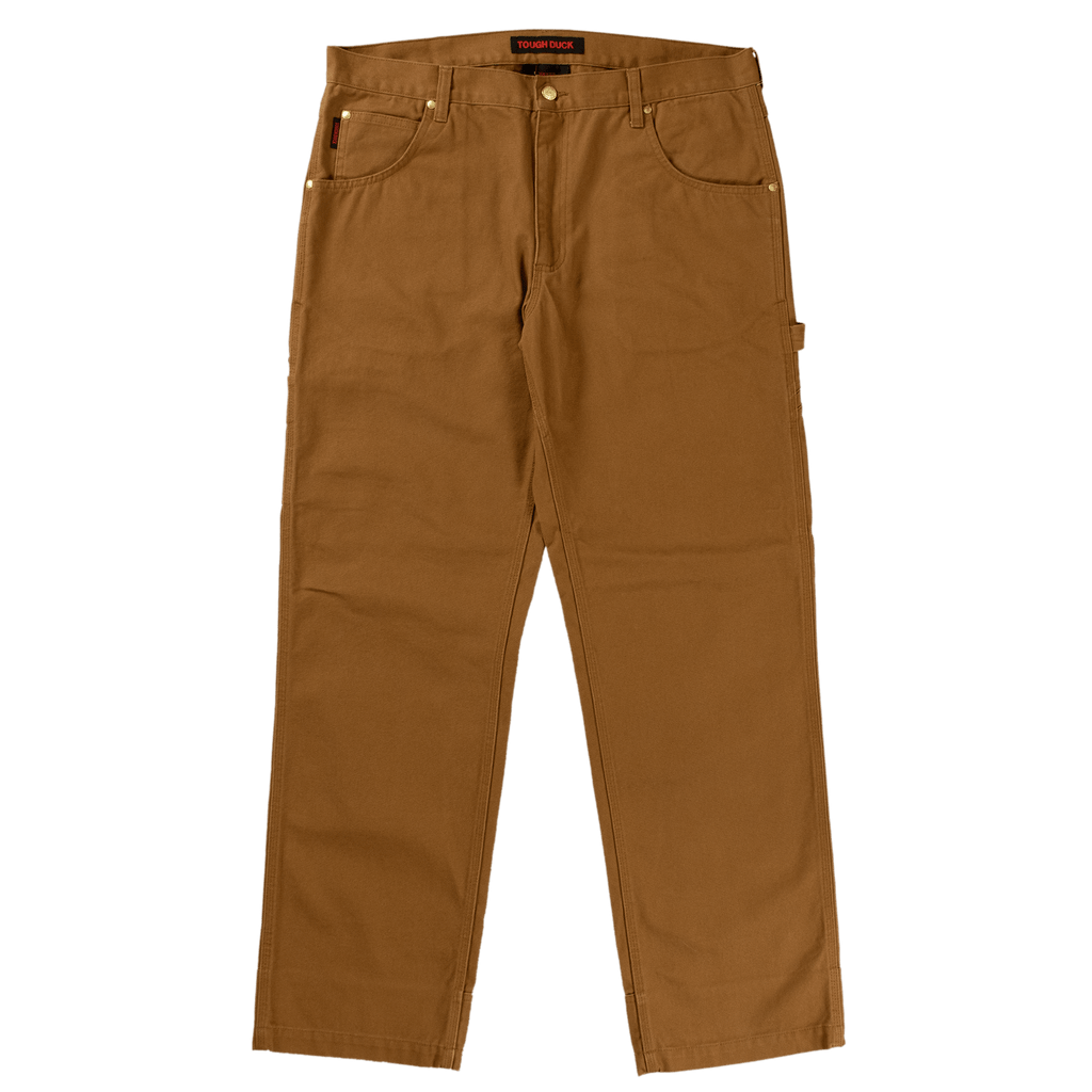 Tough Duck Washed Duck Pants - WP02 - Brown