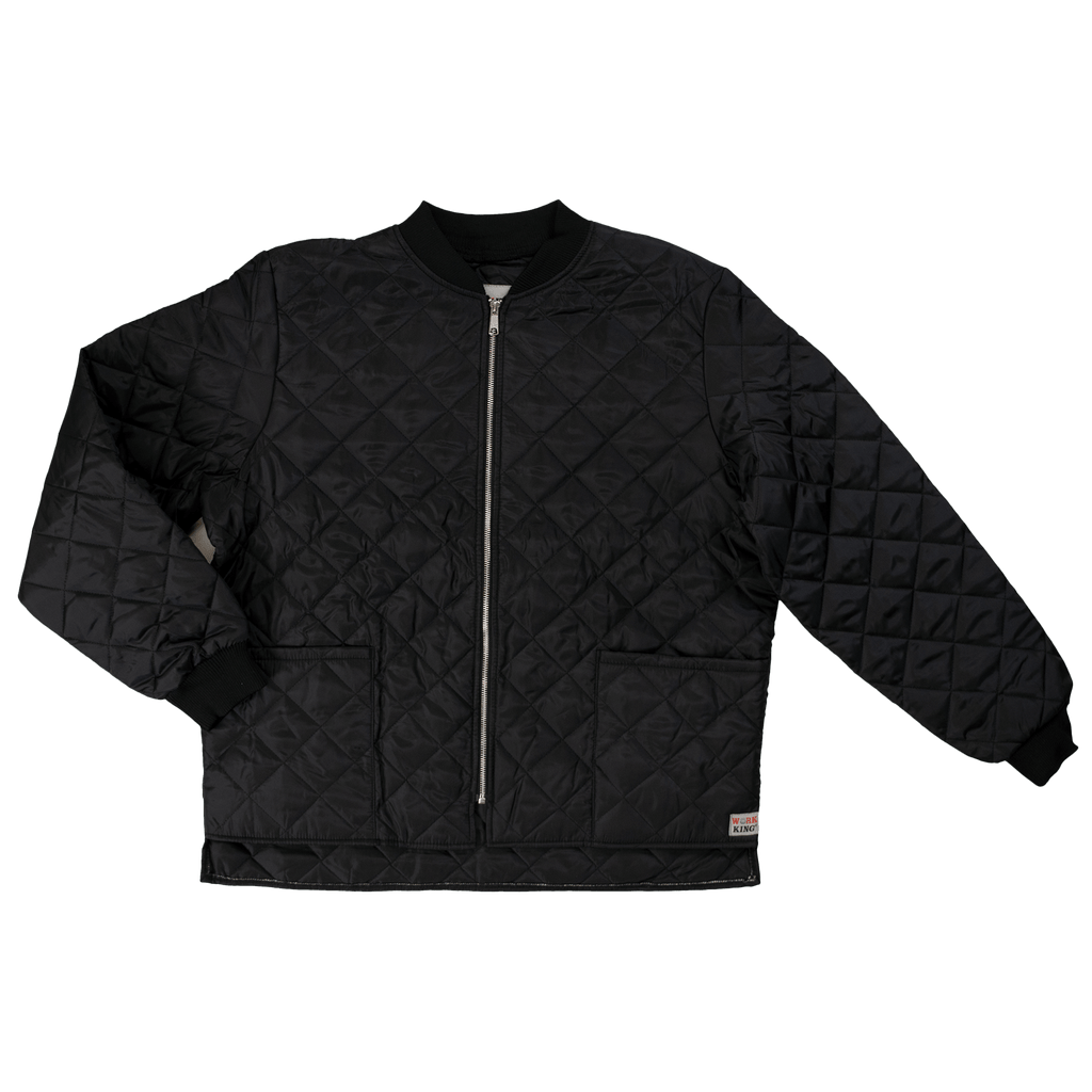 Tough Duck Quilted Freezer Jacket - i7X9 - Black