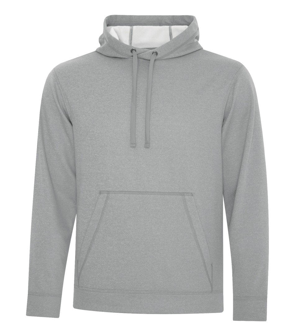 Performance Fleece Sweater:  Men's Cut Basic Solid Colours - F2005 - Athletic Grey