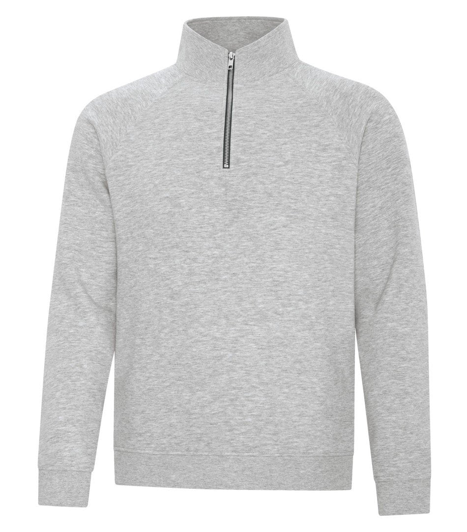 Premium Fleece Sweater: Quarter Zip - F2042 - Athletic Heather