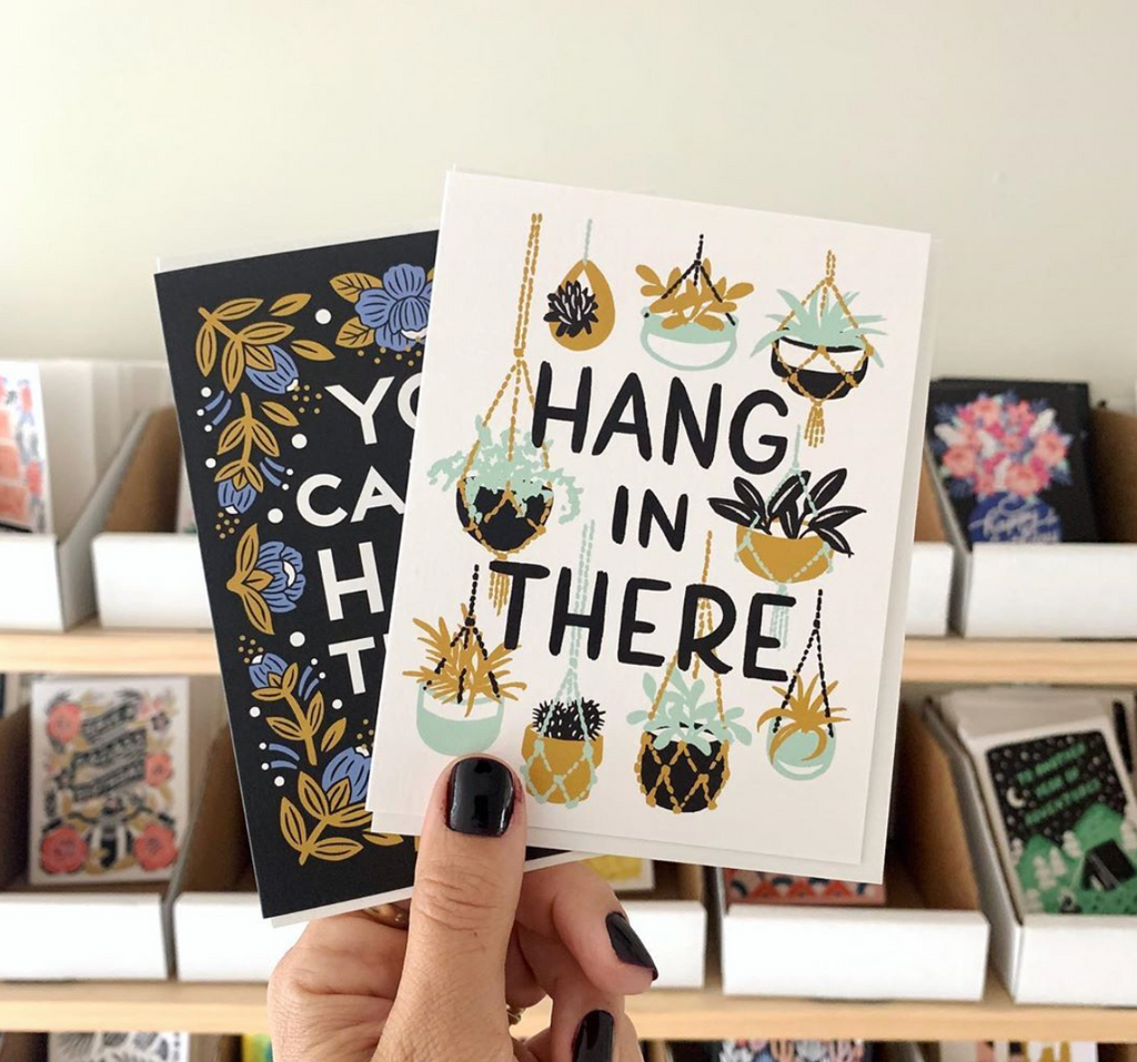 Hang In There card by Wild Hart Paper