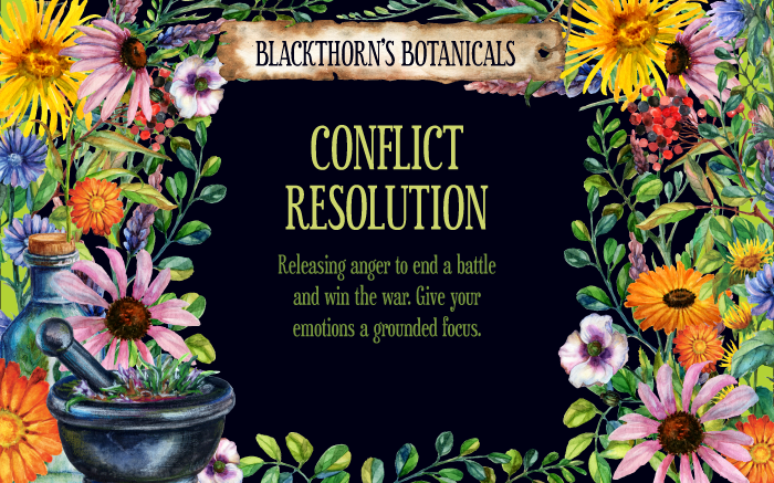 Conflict Resolution Tea or Candle