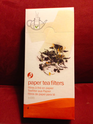Tea Filters-- Fill your own