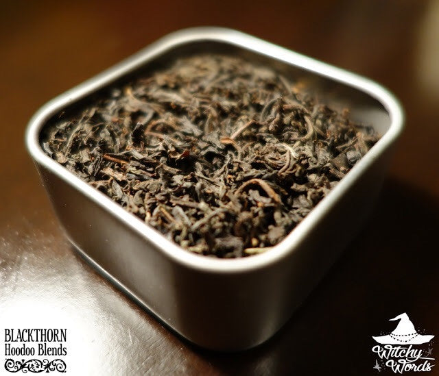 The White Witch Tea – Blackthorn Hoodoo Blends
