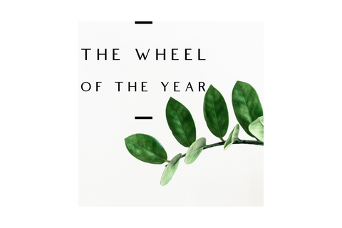 The Wheel of the Year - 8 Sabbat Teas