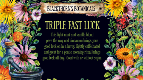Triple Fast Luck Tea