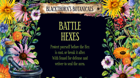 Battle Hexes Tea or Candle