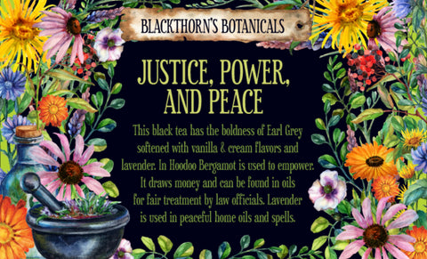 Justice, Power & Peace
