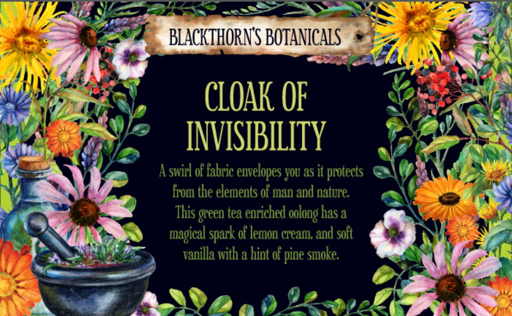 Cloak of Invisibility Tea