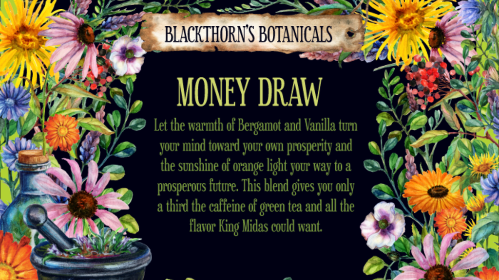 Money Draw Tea