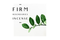 Firm Boundaries Incense