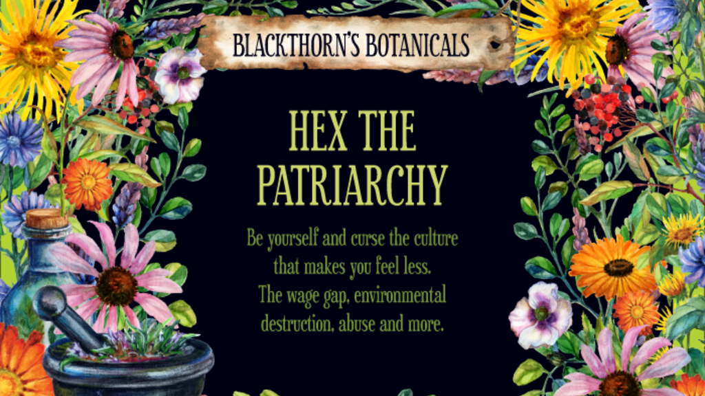 Hex the Patriarchy Tea or Candle