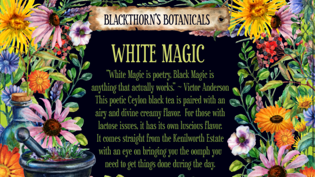 White Magic Tea