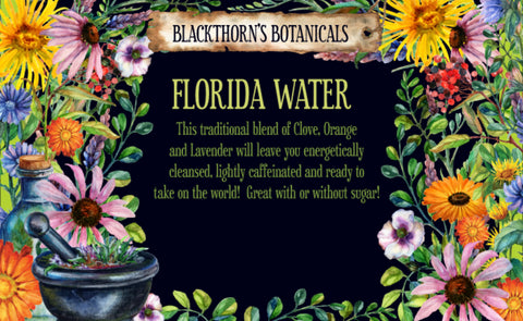 Florida Water Tea