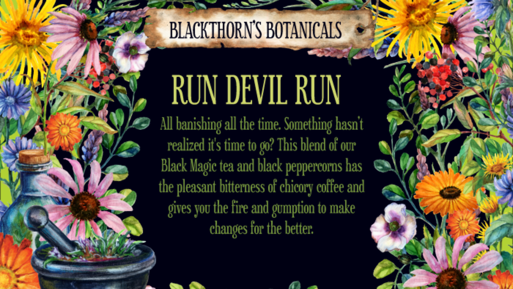 Run Devil Run Tea