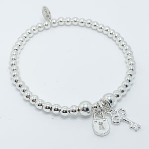 Lock and Key Bracelet