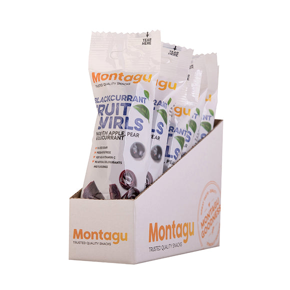 Montagu Fruit Swirls Blackcurrant 50g Pack of 10
