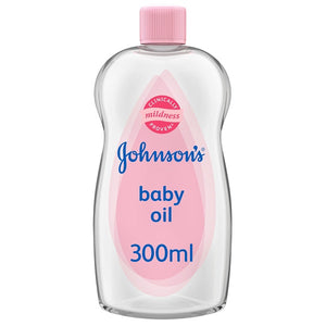 Johnsons Baby Baby Oil 300ml Pack of 24